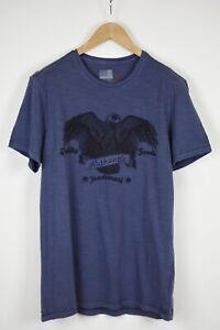 MARKS & SPENCER SUPER SLIM FIT Men XXL Short Sleeve Eagle Print T-Shirt 34770_GS