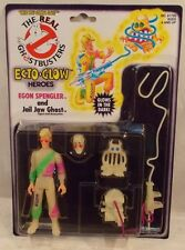 The Real Ghostbusters Ecto Glow Egon Spengler With Jail Jaw Ghost Kenner (MOC)
