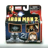 Minimates Marvel Figures - HAMMER DRONE and PEPPER POTTS - Sealed New