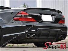 Mercedes SL55 AMG SL500 SL550 Painted 197 Obsidian Black Trunk Lip Spoiler