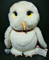 Harry Potter Hedwig Owl Backpack Plush Stuffed Animal Hogwarts School Tag