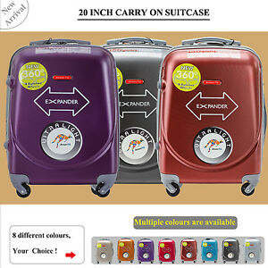 20 inch 45L Luggage 4 Spinner Wheel Trolley Travel Bag suitcase Cabin Carry On
