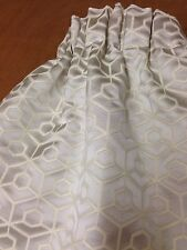 Clarke & Clarke Souk Pebble F0539/02 Curtains Made To Measure Hand Sewn 3 Cols