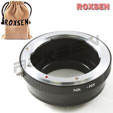 Roxsen Nikon F AI Lens To Samsung NX Mount Adapter NX11 NX20 NX100 NX200 NX1000