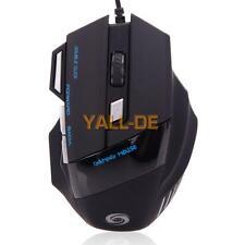 5500 DPI 7 Taste LED-optische USB-Spiel-Mäusemäuse für Pro Gamer Günstige HK