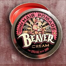 Beaver Cream Hair Pomade For Her Gardenia Scent By Cock Grease