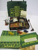 VTG Rott Gambling Speakeasy Game Box Set Case Roulette Horse Race Checkers