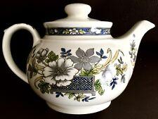 "Rare Vintage (1940s) James Sadler ""Mayfair"" English Ironstone Teapot"