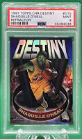 1997 Topps Chrome Shaquille O'Neal Destiny Refractor 🏦 PSA 9 🏦 LOW POP