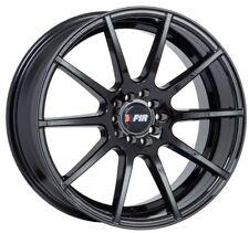 18X8.5 +38 F1R F17 5x114.3 GLOSS BLACK WHEELS Fit Acura Tl Rsx Rx7 Rx8 Accord V6