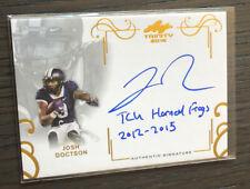 2016 Leaf Trinity JOSH DOCTSON RC Rookie On-Card Autograph/Inscription