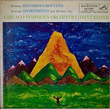 HOVHANESS: Mysterious Mountain/STRAVINSKY: Divertimento-1958LP REINER/CSO MONO