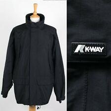 Homme K-Way Performance Veste Imperméable Coupe-Vent Pluie Voile extra large XL