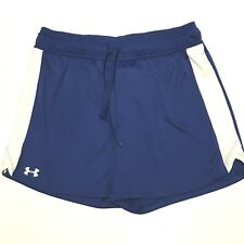 Under Armour M Ua Matchup Womens Lacrosse Shorts Athletic Medium 8-10 Blue White