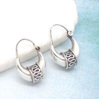 Bali Hippie Gipsy Design Ohrringe Creolen Ringe Hänger 925 Sterling Silber neu