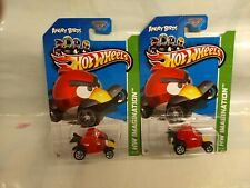 Hot Wheels - Lot of 2 - Angry Birds - HW Imagination - 47/247