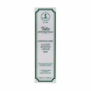 Taylor Of Old Bond Street Shaving Cream Lemon-lime Tube, 2.5-Ounce
