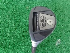 Left Hand Adams Golf Idea Super Hybrid 5 Hybrid 25 Ozik Program Stiff Shaft