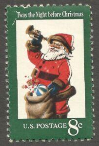AOP USA #1472 1972 8c Santa Claus printing error MNH