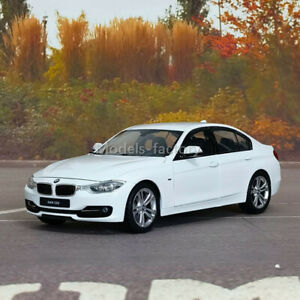 Welly 1/18 BMW 3 series 335i Diecast Model Car Kids Toys Gifts Display White/Red