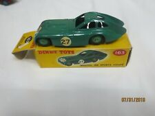 DINKY TOYS No 163 BRISTOL 450 SPORTS COUPE with Box Excellent Condition