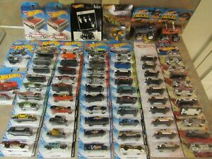 HOT WHEELS 2020/2019/2018/2017 COLLECTION LOT OF 75 ASSORTED