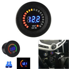 DC12V Waterproof Blue LED Digital Voltage Meter Display Voltmeter Car Motorcycle