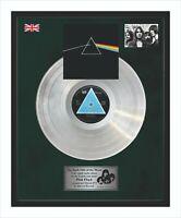 Pink Floyd The Dark Side Of The Moon Platin-Schallplatte Im Rahmen