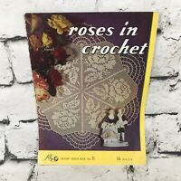 Vintage Lily Crochet Design Book No. 71 Roses in Crochet