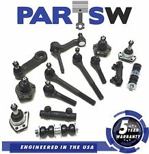 12 Pc Suspension Kit Chevy S15 S10 Blazer Bravada Gmc Jimmy Sonoma Steering set