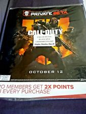 RARE! CALL OF DUTY BLACK OPS 4 POSTER ORIGINAL Display STORE ONLY LARGE NEW