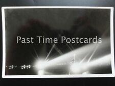 Military Royal Navy HMS CHRYSANTHEMUM Searchlight Display Old RP Postcard BY R.N