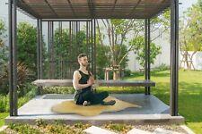 Yoga Schaffell Fitnessmatte Sportmatte Pilates Gymnastik versch. Größen