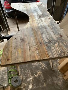 Desk Top Reclaimed Wood Custom Made