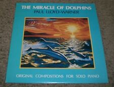 The Miracle Of Dolphins Paul Lloyd-Warner~AUTOGRAPHED~Solo Piano Compositions~NM