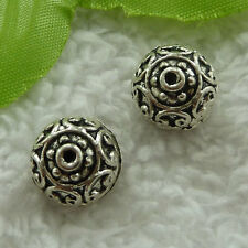 free ship 100 pieces tibet silver nice spacer beads 13mm #2864