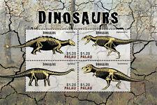 Palau 2014 - Dinosaur stamp sheet of 4 stamps MNH