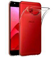 Cover Für Asus Zenfone 4 Selfie Pro ZD552KL Transparent IN TPU + Glas Gehärtetes