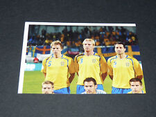 N°385 EQUIPE TEAM P1 SUEDE SVERIGE PANINI FOOTBALL UEFA EURO 2008