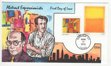 SSS: Collins  HP  FDC  2010  44c  Abstract Expressionists   Hofmann    Sc # 4444