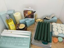 PartyLite Candle Lot of Assorted Tapers Tealights Tealight Holders And More!