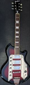Eastwood Airline '59 Town & Country Std 2006 Red / Black Burst