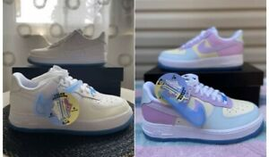 NIKE AIR FORCE 1 '07 LX UV COLOR CHANGING 7.5W WHITE BLUE PURPLE DA8301-100 NEW