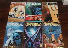 COPPERHEAD #1-6 Set Run Lot Mini-Series 2014 Image Comics VF