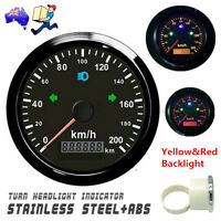 85mm GPS speedometer 200km/h Odometer For Car Truck SUV ATV Motorcycle Boat NEW