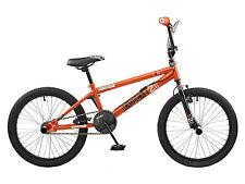 Rooster Radical 20 BMX Bike Orange/Black with Spoke Wheels