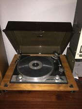 Vintage A.R. Sugden Connoisseur Turntable and dust cover