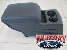16 thru 17 Explorer OEM Ford Parts 2nd Row Seat Console for XLT Limited in Black