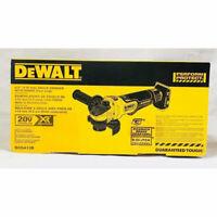 """Dewalt DCG413B 20V XR Brushless 4.5"""" Angle Grinder Tool Only"""