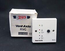 Vent Axia Remote Visual Controller RVC 10314220 (2413)